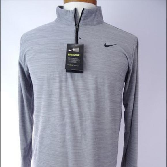 Nike Other - Nike Men's Breathe Dri-Fit 1/4 Zip Long Sleeve